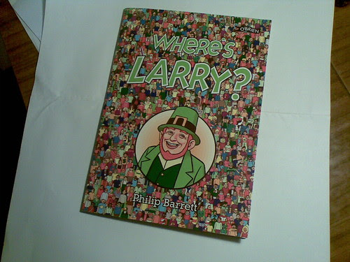 Where's Larry book