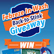 Febreze In-Wash #BackToStink Giveaway - The Mixing Bowl