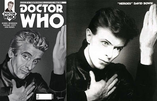 David Bowie and Doctor Who