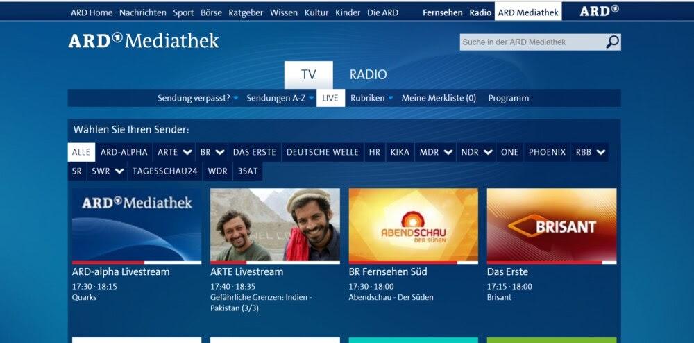 Online Fernsehn Gucken