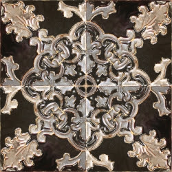 ASK 5711 Portuguese enameled cuenca tiles