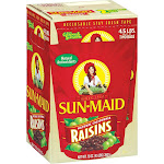 Sun-Maid Raisins, 2.25 lbs, 2-count