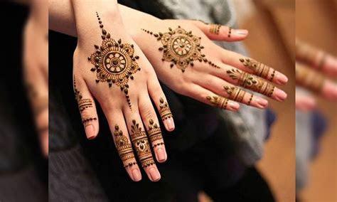 Latest Mehndi Designs For Wedding Parties