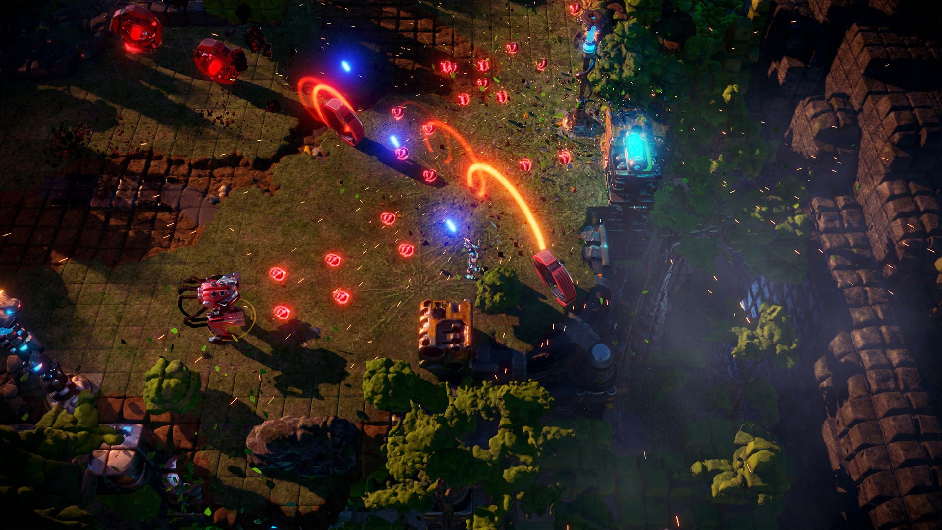 Housemarque's top-down shooter Nex Machina is out June 20 screenshot