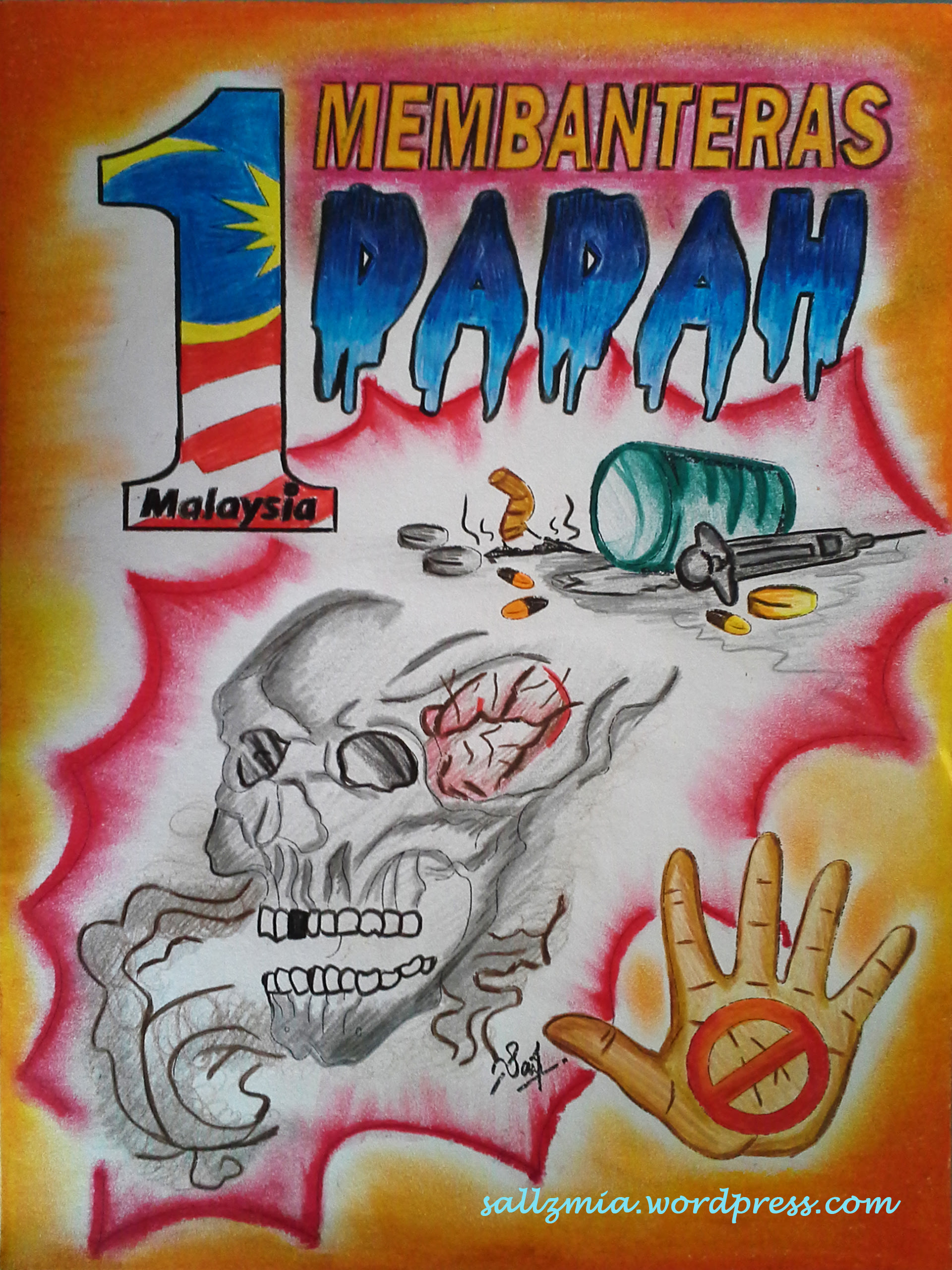 4570book Clipart Anti Dadah Posters In Pack 5012