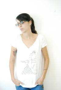 the new colection of t-shirts about ömönette maked completly in Barcelona about local artists*