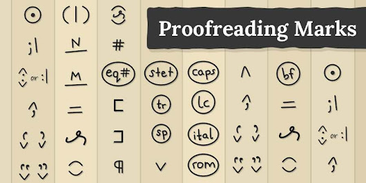 What Are the Meaning of Proofreading Marks? • The Reedsy Blog