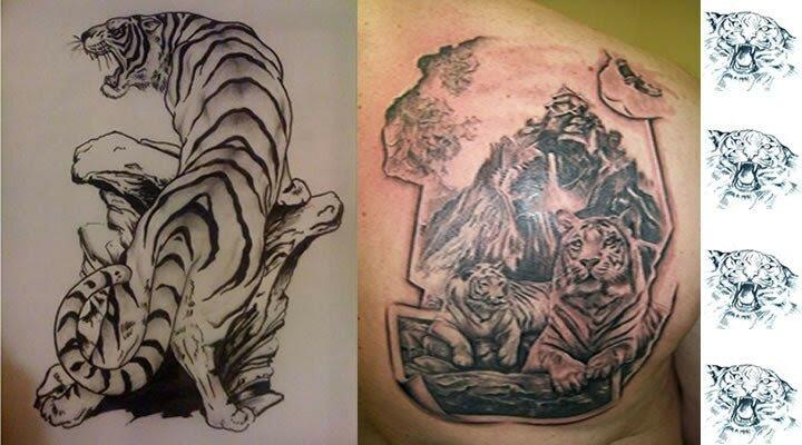 Tatuajes De Tigres Tatuajes De Animales