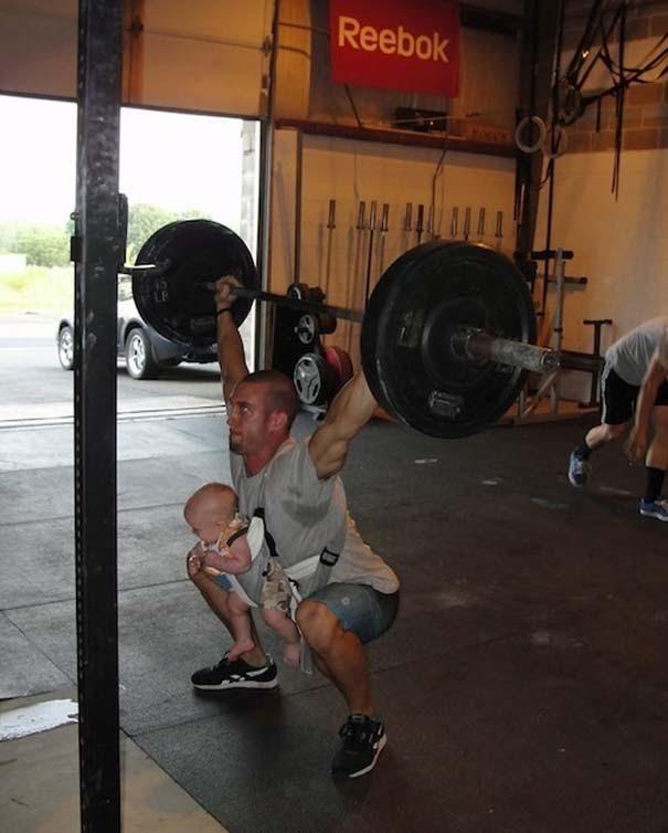 Απερίγραπτες στιγμές στο γυμναστήριο (3)