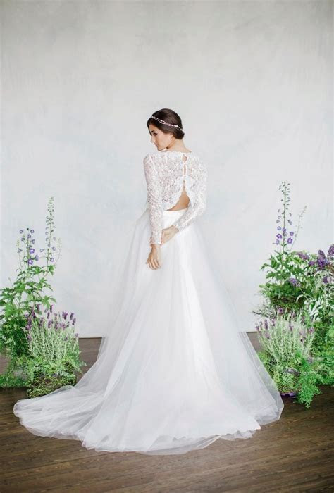 Two Piece Wedding Dresses for the Non Traditional Bride