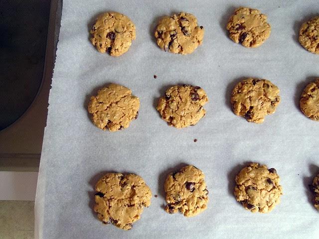 flourless peanut butter chocolate cookies