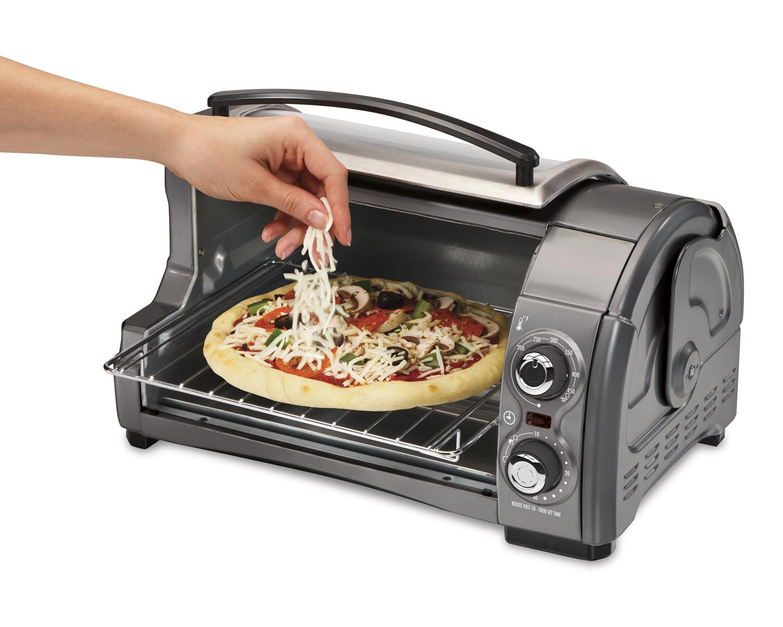 Hamilton Beach Brands Inc. 31334Z ® Easy Reach™ Toaster Oven