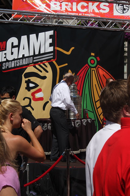 Stanley Cup in Portland, 8/17/11