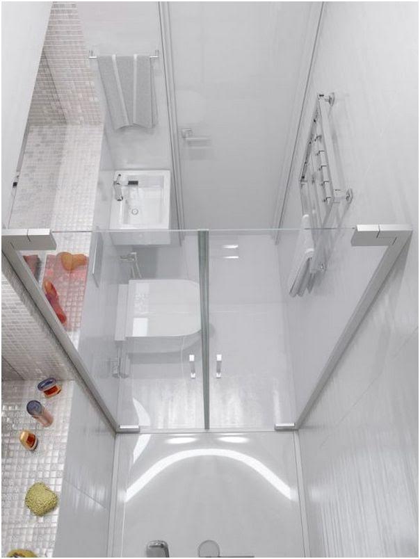 Desain Glass Block Kamar Mandi Model Rumah Minimalis