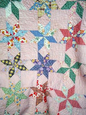 vintage star quilt