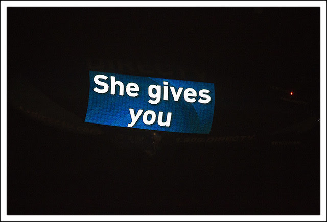 She Gives You (Direct TV Blimp 1)