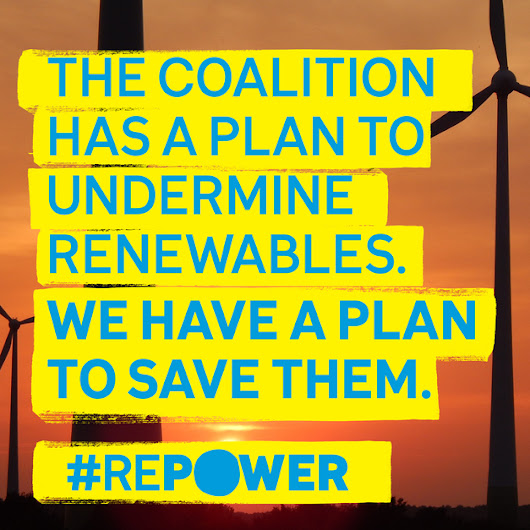 Save Renewables with the Repower Plan!