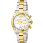 Invicta Men's Speedway Chronograph G S 9212 Gold Stainless-Steel Plated Japanese Quartz Diving Watch
