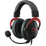 HyperX Cloud II Over-Ear Headset - Red