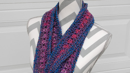 Extra Long Infinity Cowl Pattern - The Crochet Crowd