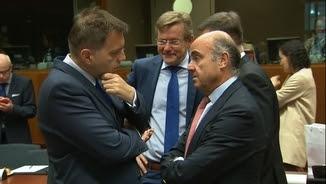 El ministre De Guindos, a l'Ecofin
