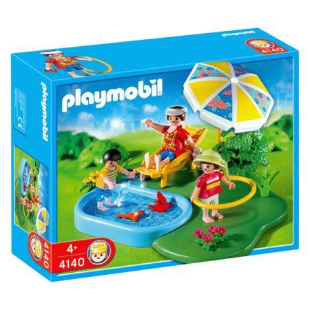 Playmobil 4140 Compact Set Zwembad Speelgoed