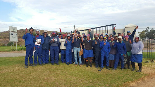 "Rico Basson on Twitter: ""Another 31 farmworkers completed the @VinPro_za accredited pruning course today at @NUYWINERY #skillsdevelopment """