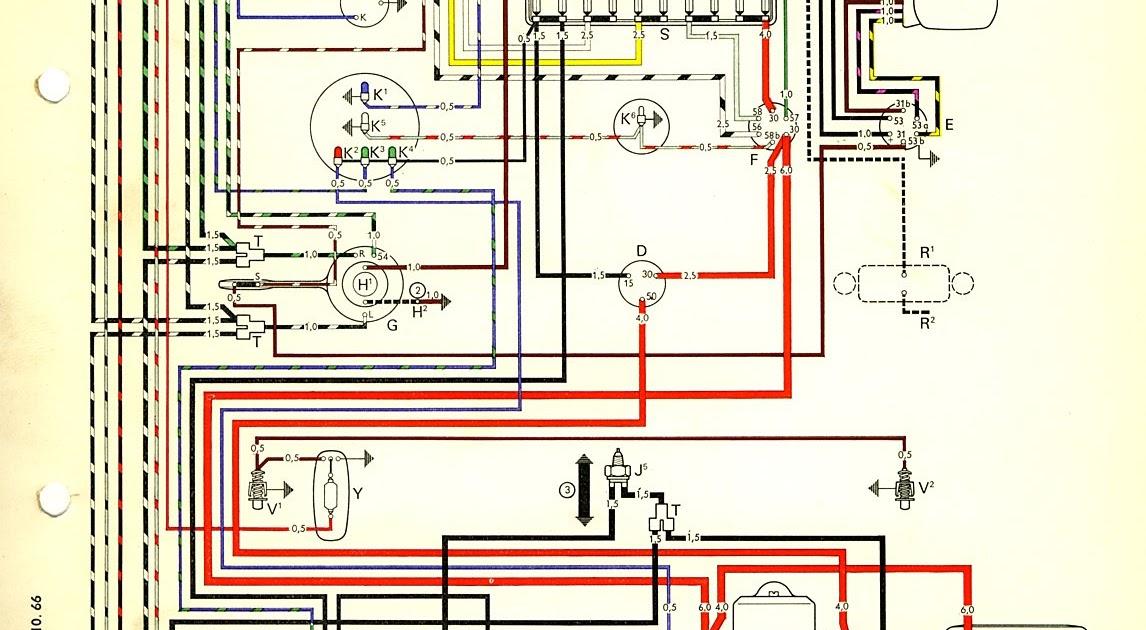 Vw Beetle Wiring Diagram 1972 Dah