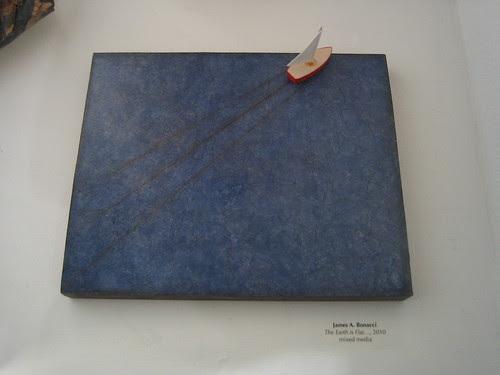 The Earth is Flat by James A. Bonacci, Green - Berkeley Art Center Member Show 2010 _ 9398