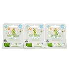 Babyganics Organic Lip & Face Balm 3 x 0.25 oz. - Fragrance Free