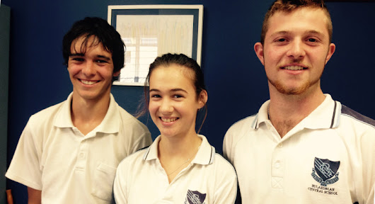 Bulahdelah Central School students recognised at Youth Quest