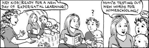 Home Spun comic strip #258