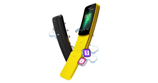 the nokia 8110 banana phone from 'the matrix' is back