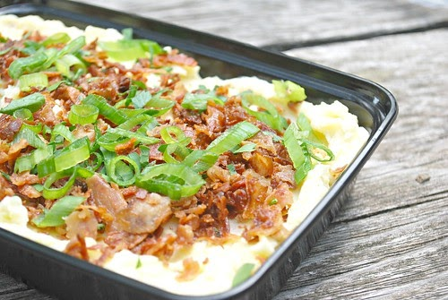 What's Cookin, Chicago?: Bacon Horseradish Smashed Potatoes