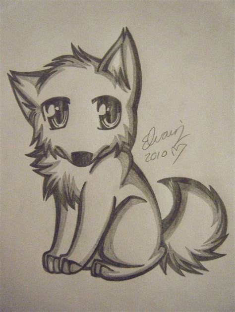 drawings  wolves wolf drawing   animefan