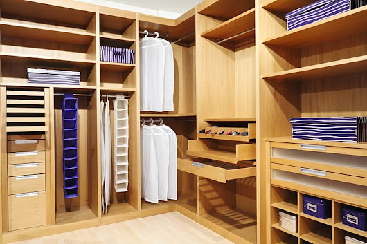 Create Extra Space With Closet Organizers - Foscari Interiors