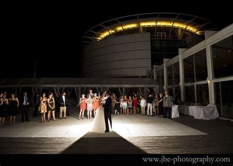 First dance outside at Discovery World Pilot House