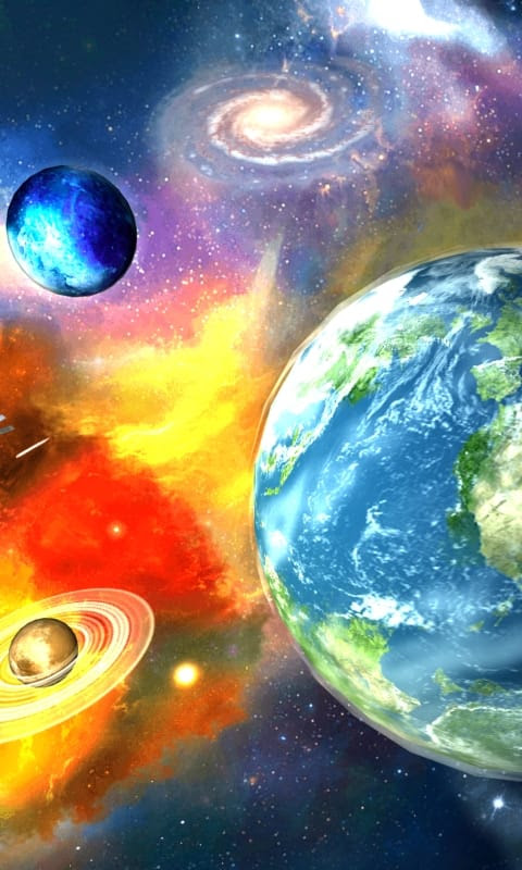 3D Galaxy Live Wallpaper for Android - Download