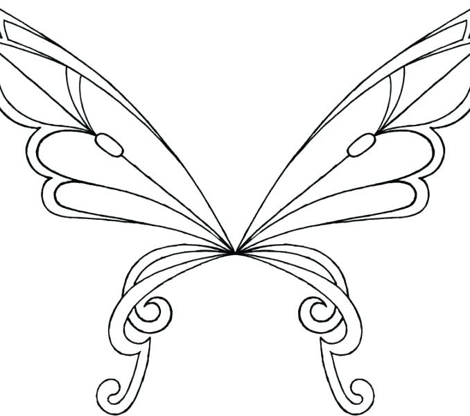 Butterfly Wings Coloring Pages at GetColorings.com | Free ...