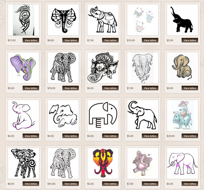 Elephant Tattoo Meanings Itattoodesignscom
