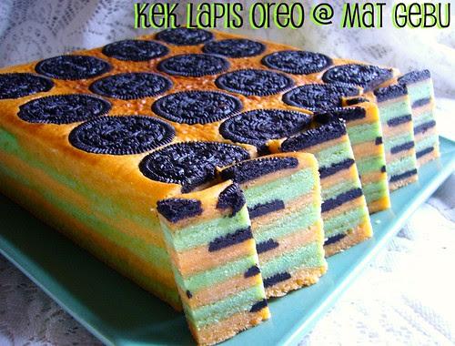 Kek Lapis Oreo