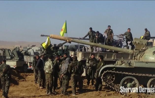 Οι Τούρκοι ζητούν να αποσυρθούν οι Κούρδοι από τη δυτική όχθη του Ευφράτη