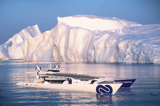 This boat will make its own fuel on a round-the-world voyage