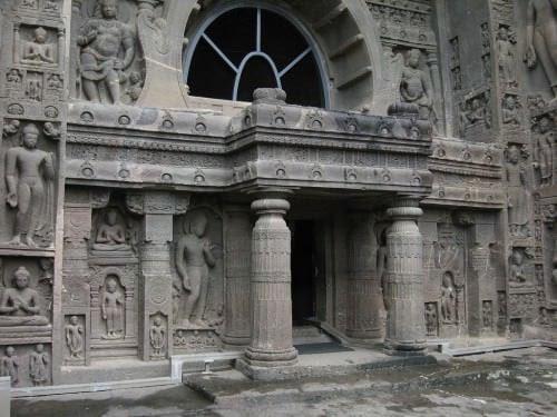 Cave 19, Ajanta, Deccan