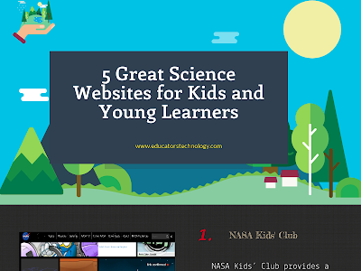 5 Great Science Websites for Young Learners