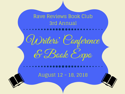 2018 #RRBC WRITERS' CONFERENCE & BOOK EXPO!