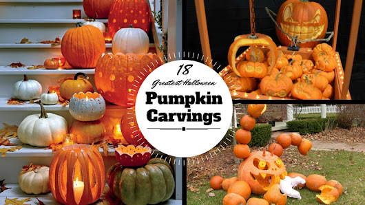 18 Greatest Halloween Pumpkin Carvings - Craft Minute
