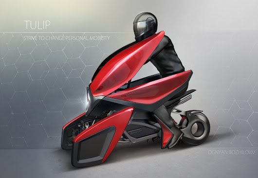 Tulip EV Concept - the Future of Modern Day Transportation through a Different Lens