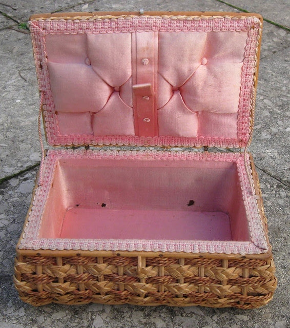 Sewing box interior