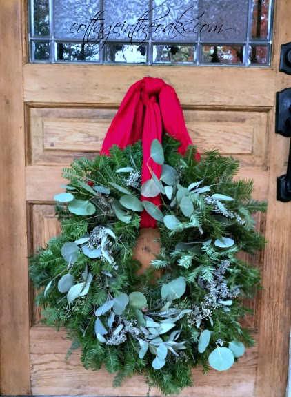 How to Make a Eucalyptus and Fir Wreath - Cottage in the Oaks